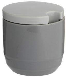 Сахарница Cafe Concept 9X9X10 CM серая