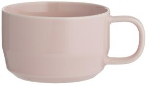 Чашка для каппучино Cafe Concept 400 ml розовая