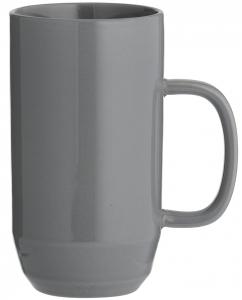 Чашка для латте Cafe Concept 550 ml тёмно-серая
