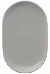 Тарелка сервировочная Cafe Concept 20X13 CM серая