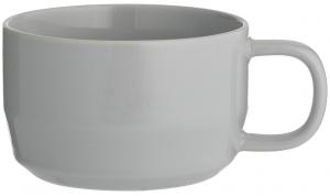 Чашка для каппучино Cafe Concept 400 ml серая