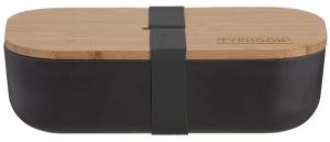Ланч-бокс Colour 1.5 L чёрный