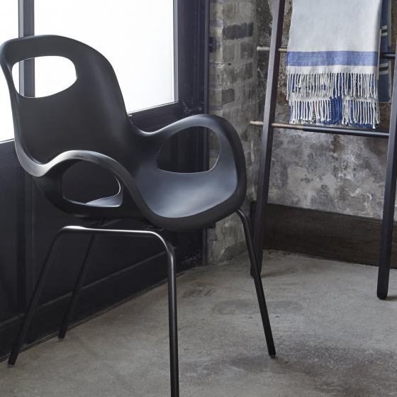 Стул Oh Chair 60X63X86 CM чёрный 2