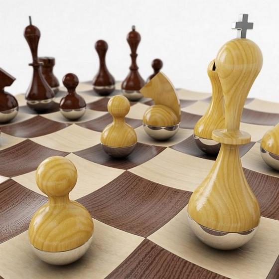 Шахматный набор wobble 4