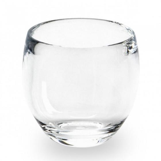 Стакан для ванной droplet прозрачный 1