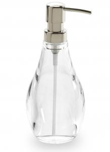 Диспенсер для мыла droplet прозрачный