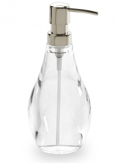 Диспенсер для мыла droplet прозрачный 1