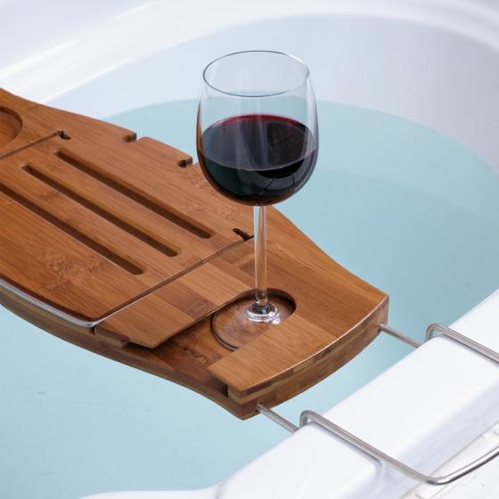 Полка для ванной Aquala дерево 5