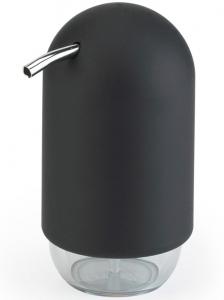 Диспенсер для мыла touch черный