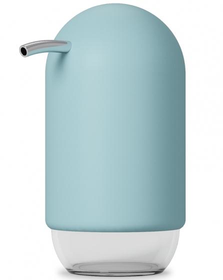 Диспенсер для мыла Touch 235 ml голубой 4