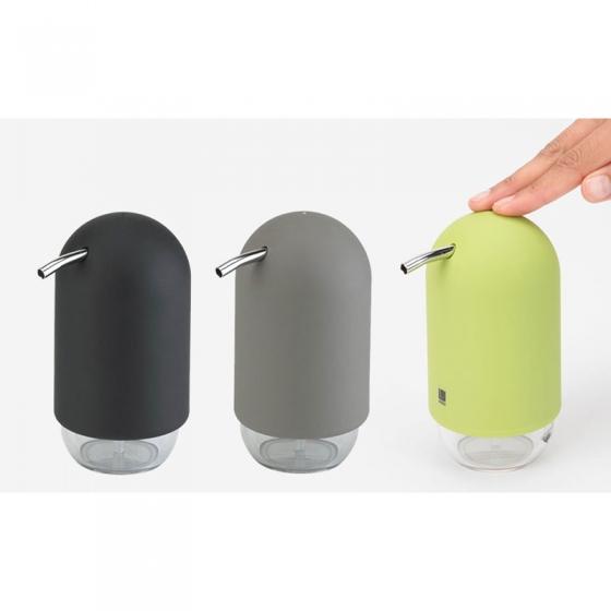 Диспенсер для мыла touch серый 3