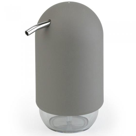 Диспенсер для мыла touch серый 1