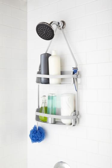 Органайзер для ванной flex белый 3
