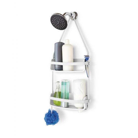 Органайзер для ванной flex белый 4