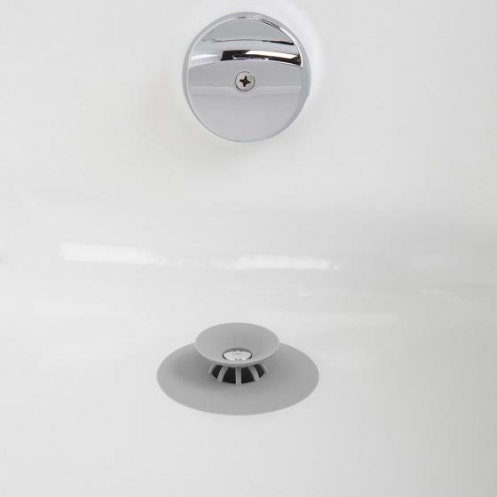 Фильтр для слива flex серый 4