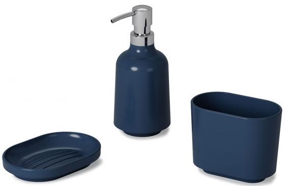 Диспенсер для жидкого мыла Step 385 ml синий 8