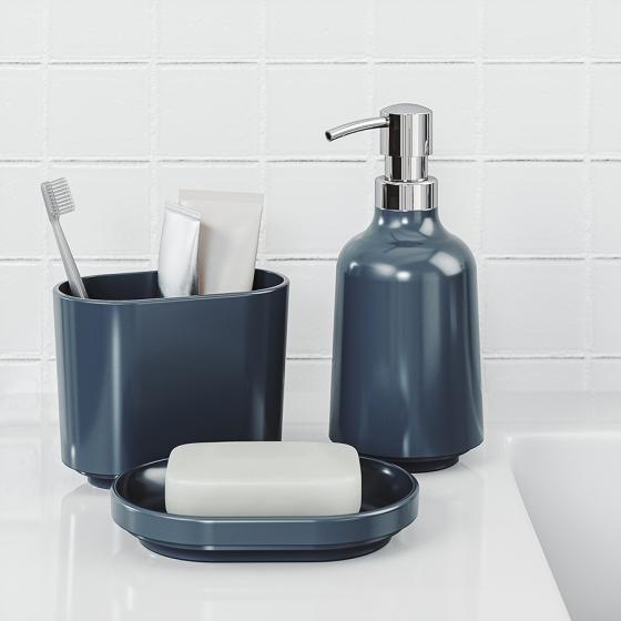 Диспенсер для жидкого мыла Step 385 ml синий 2