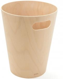 Корзина для мусора Woodrow 23X23X28 CM натуральное дерево