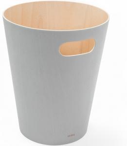 Корзина для мусора Woodrow 23X23X28 CM светло-серая