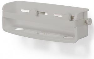 Органайзер для ванной Flex Gel-Lock серый