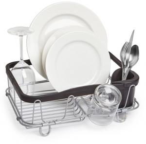 Сушилка для посуды Sinkin чёрный/никель
