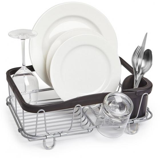Сушилка для посуды Sinkin чёрный/никель 1