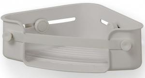 Органайзер для ванной Flex Gel-Lock угловой серый