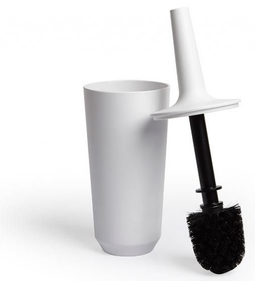 Ёршик туалетный corsa белый 2