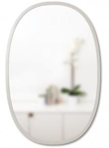 Зеркало овальное Hub 61X91 CM серое