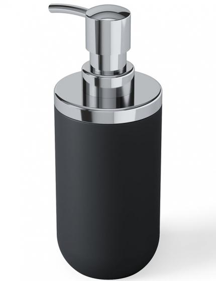 Диспенсер для мыла Junip чёрный-хром 3