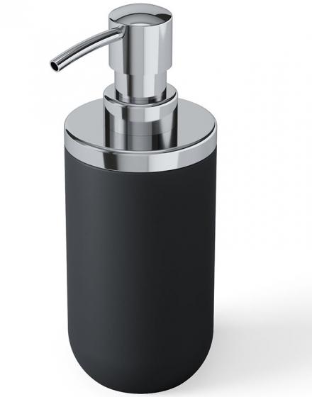 Диспенсер для мыла Junip чёрный-хром 1