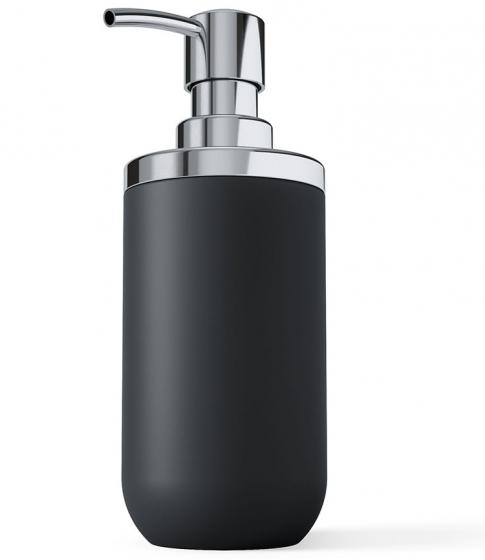 Диспенсер для мыла Junip чёрный-хром 2