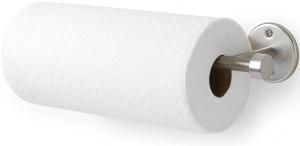 Держатель для бумажных полотенец настенный cappa никель