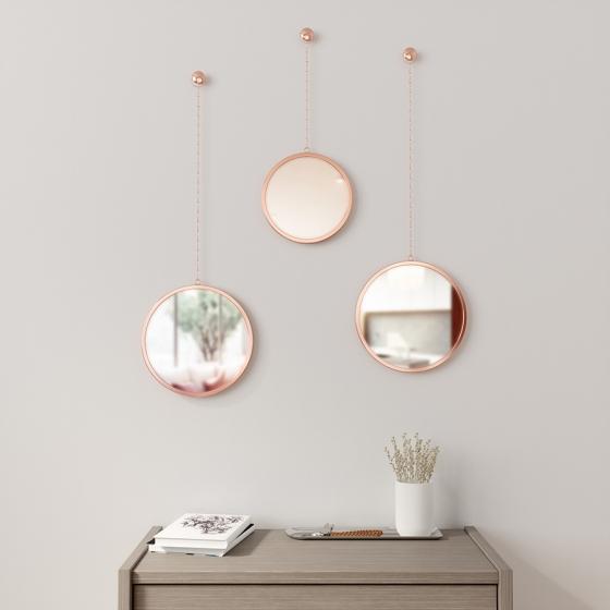 Зеркала декоративные Dima Ø22 / Ø22 / Ø18 CM 2