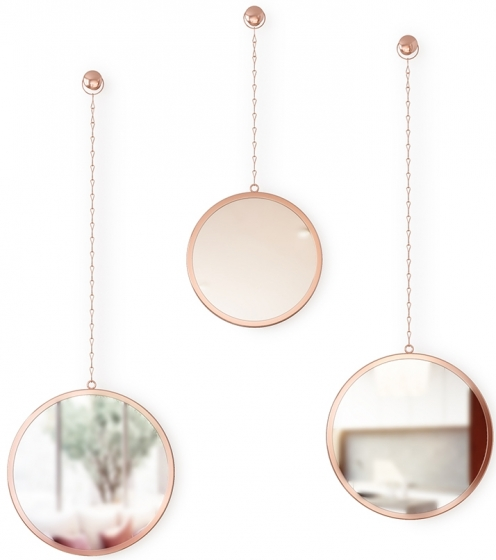 Зеркала декоративные Dima Ø22 / Ø22 / Ø18 CM 3