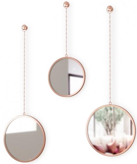 Зеркала декоративные Dima Ø22 / Ø22 / Ø18 CM 1