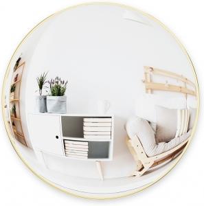 Зеркало сферическое Сonvexa Ø61 CM латунь