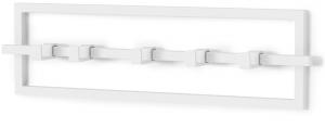Вешалка настенная Сubiko 53X15 CM белая