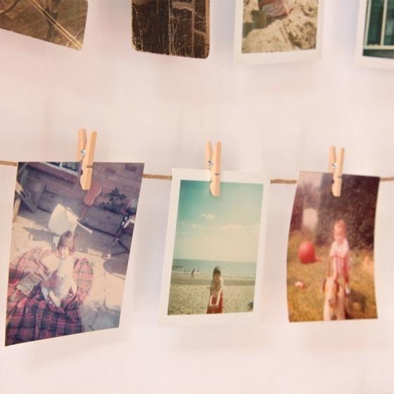 Панно с зажимами для 40 фотографий hangit белое 7