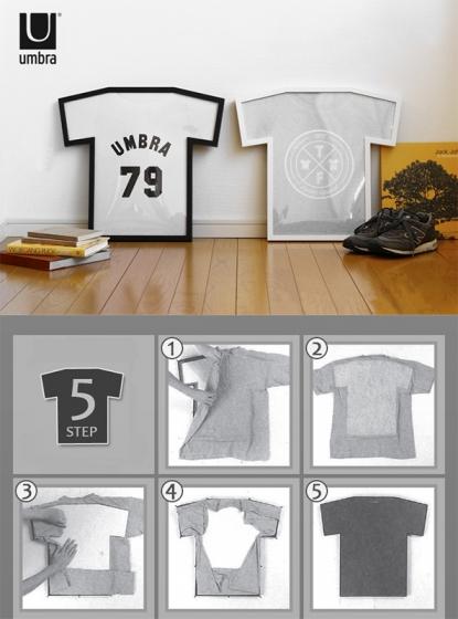 Рамка для футболки t-frame 50X54 CM чёрная 5