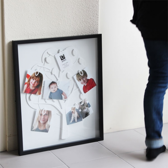 Рамка для фотографий family tree черная 61X51 CM 2