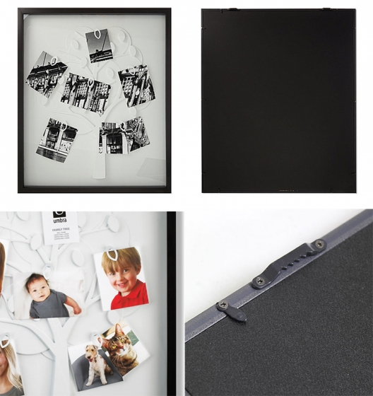 Рамка для фотографий family tree черная 61X51 CM 6
