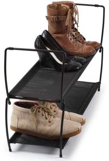 Полка для обуви imelda 81X22X23 CM черная 3