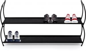 Полка для обуви imelda 81X22X23 CM черная