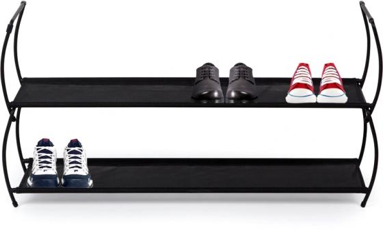 Полка для обуви imelda 81X22X23 CM черная 1