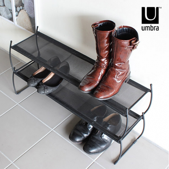 Полка для обуви imelda 81X22X23 CM черная 5