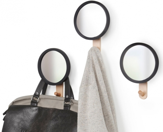 Зеркало с вешалкой hub 22X15X5 CM 3