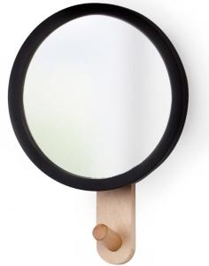 Зеркало с вешалкой hub 22X15X5 CM