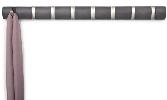 Вешалка настенная горизонтальная Flip 8 крючков 82X7 CM 4