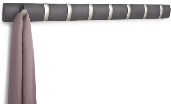 Вешалка настенная горизонтальная Flip 8 крючков 82X7 CM 3